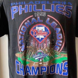 Vintage Philadelphia Phillies 1993 NL champions
